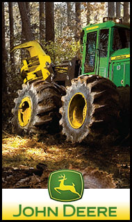 JOHN DEERE - FORESTRY EQUIPMENT