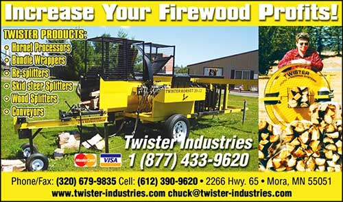 Twister Industries - Firewood Processing Equipment