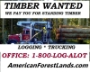 Washington Timber Services- Log Buyer, Logging Trees Pacific NW