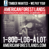 TIMBER LOG BUYER Logging Company Forestry Service Thurston County Lewis King Washington